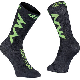 Northwave Extreme Air Socks black/lime fluo